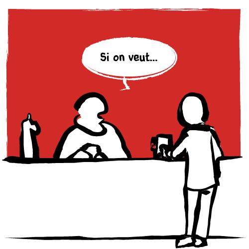 Le patron hésite: «Si on veut…»