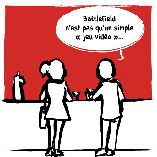 «Battlefield n'est pas qu'un simple ‹jeu vidéo›…»